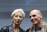 Christine Lagarde Yanis Varoufakis