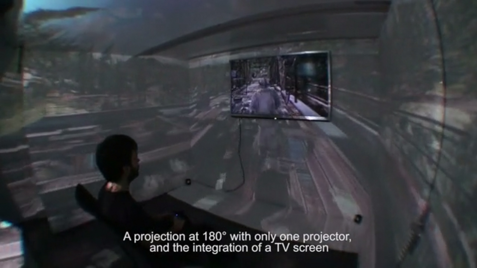 Imagine if your video game could expand beyond your TV screen to fill your entire field of vision - this is the dream of Immersis