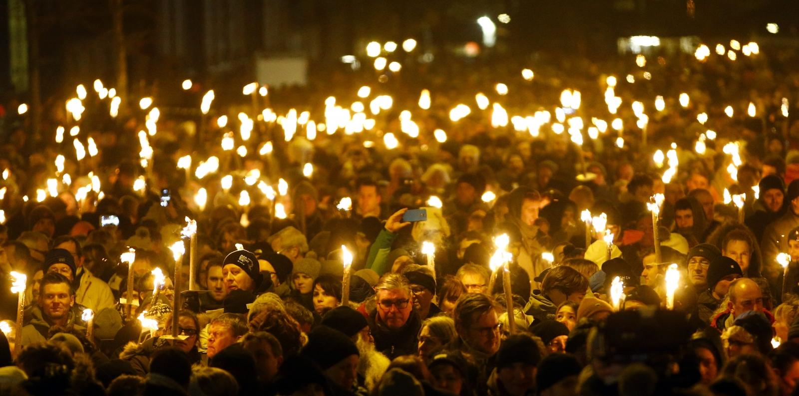 Denmark vigil