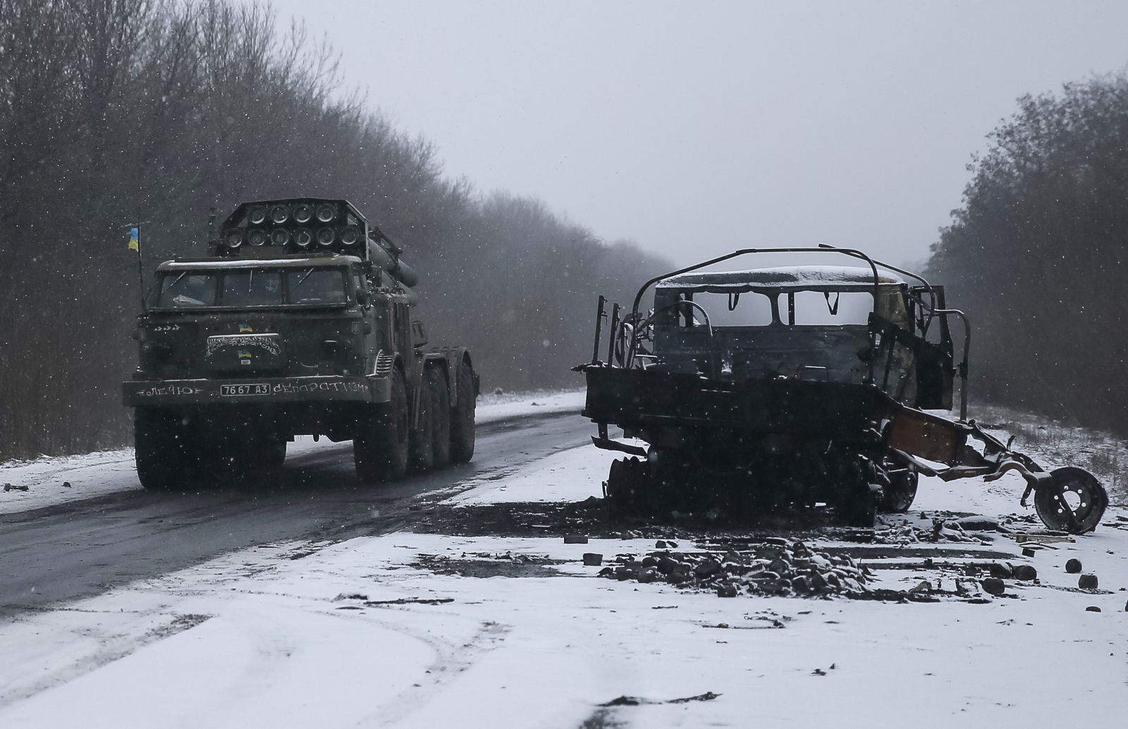 Ukraine crisis and ceasefire