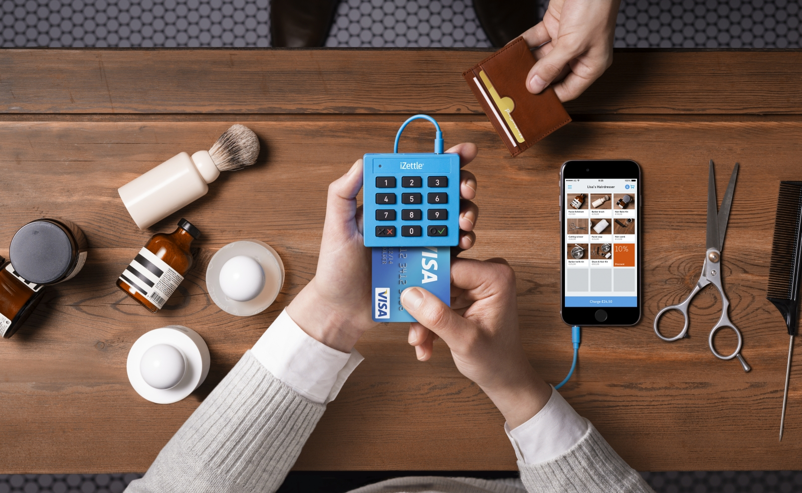 iZettle free chip-and-PIN reader launched