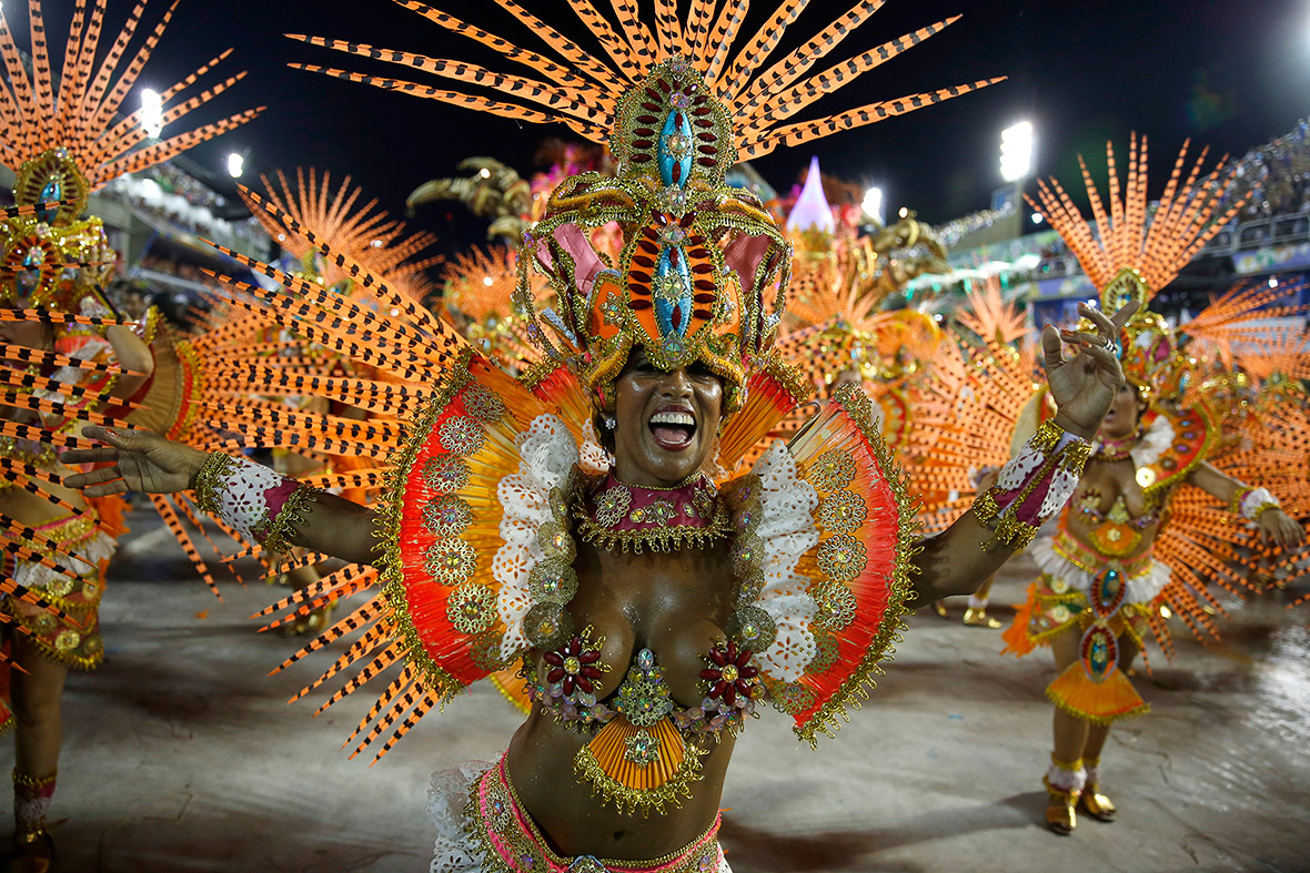 Rio Carnival 2015: Extravagant floats and daring costumes, but ...