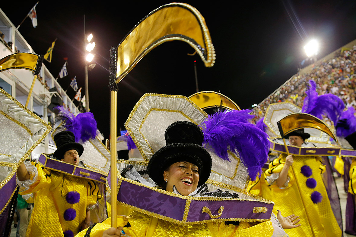 Rio Carnival 2015 Sao Clemente