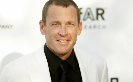 Former cyclist Lance Armstrong