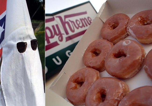 Krispy Kreme has apologised for its PR error