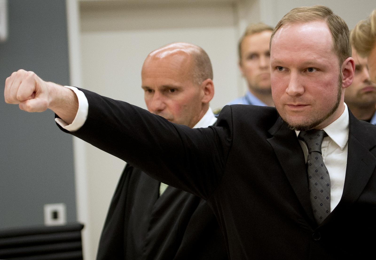 Mass murderer Anders Breivik (Getty)