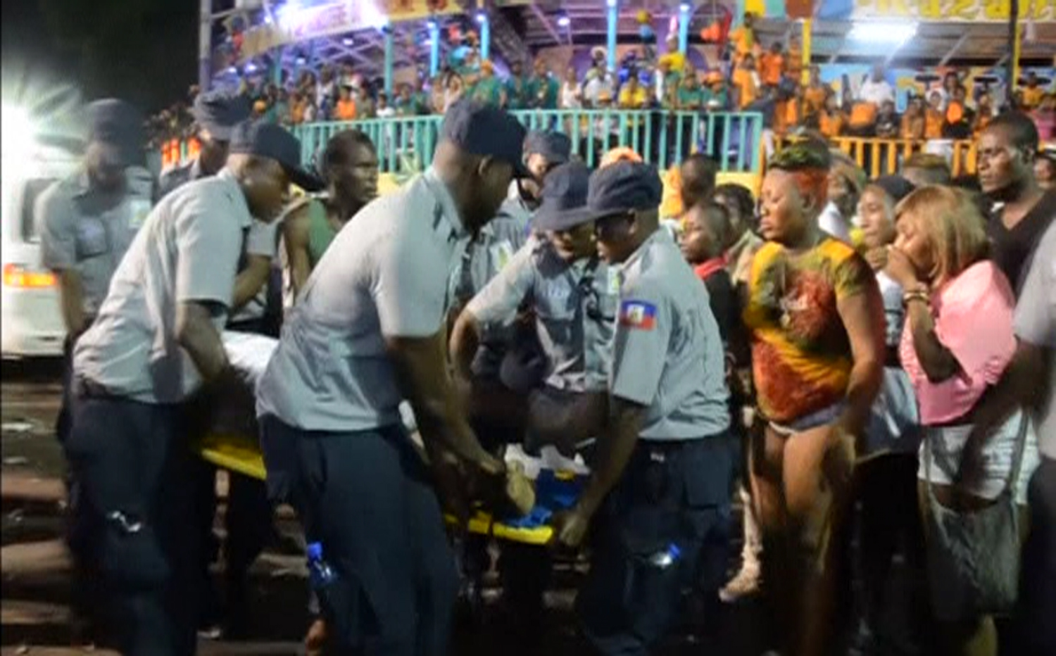 Haiti: 20 dead after Carnival float hits electrical wires