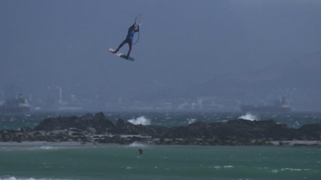 Aaron Hadlow is crowned the Red Bull King of the Air 2015