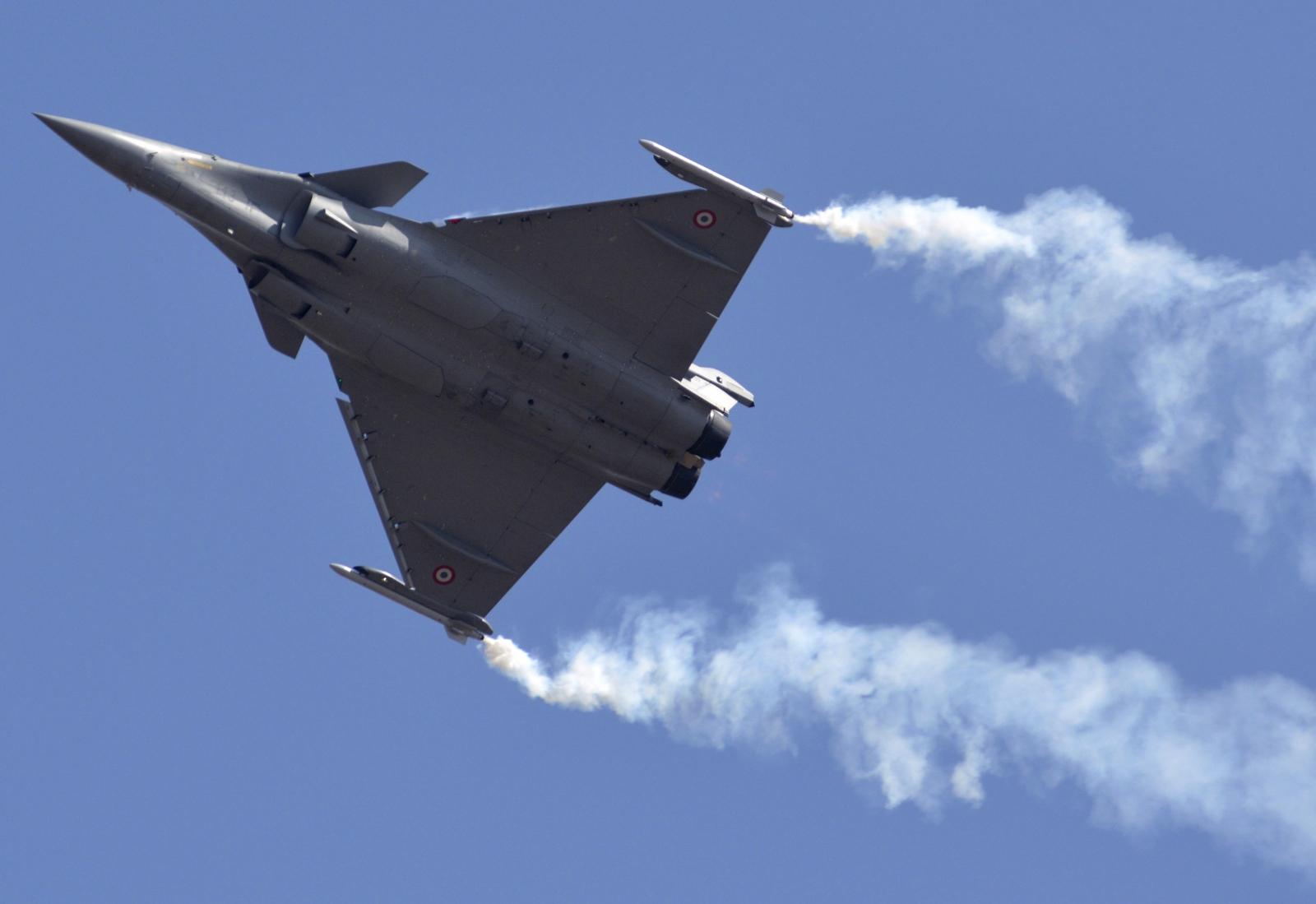 Aero India - French Rafale jets