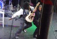 Rapper Afroman lashes out at female fan during gig in Mississippi
