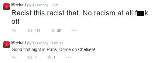 Chelsea fan tweet