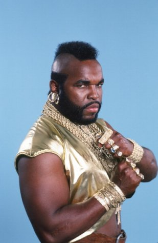 iconic A Team character BA Baracus, played by Mr T. (Getty)