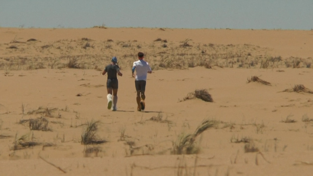 Runners claim a world record after crossing 500km of Namib Desert