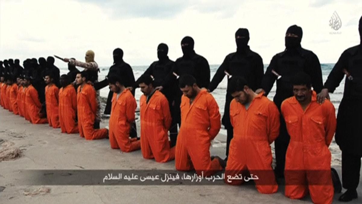 ISIS beheading Libya