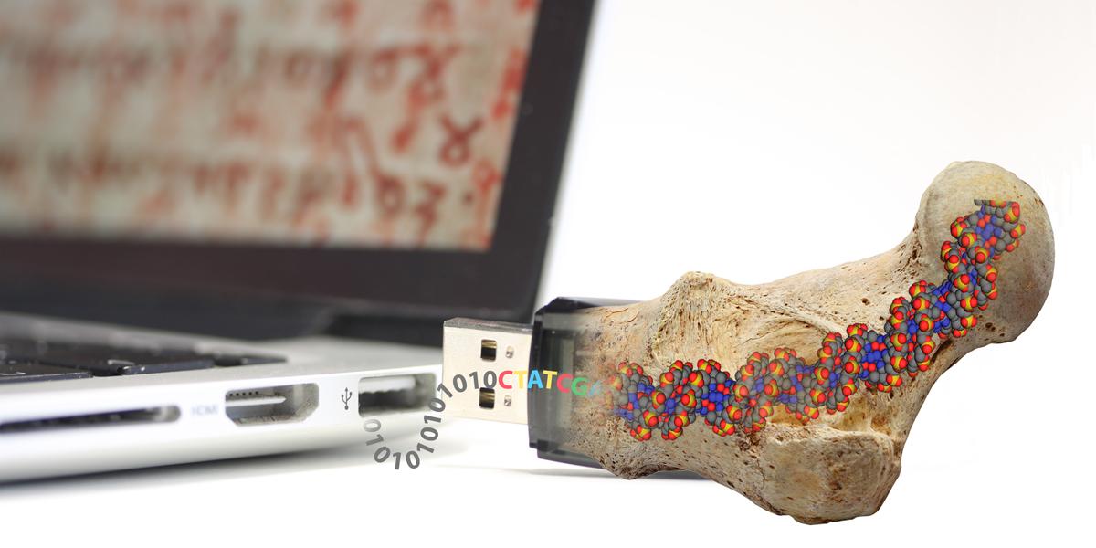DNA data storage: 1.8 zettabytes of information in a single spoon of liquid