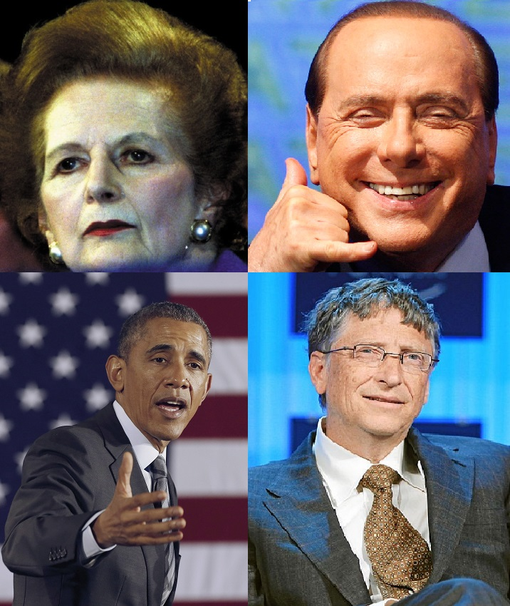 The world's former and current successful leaders reap benefits from less shut eye than normal.