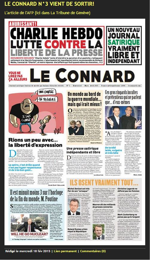 Sonora Media published satirical spoofs of French publications, including Le Monte, a pastiche of the very serious newspaper Le Monde