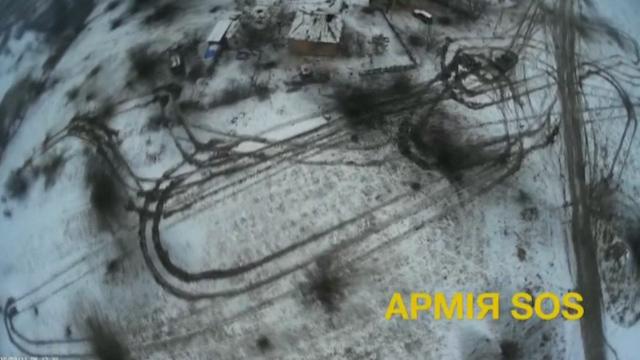 Drone footage shows devastation from Debaltseve fighting