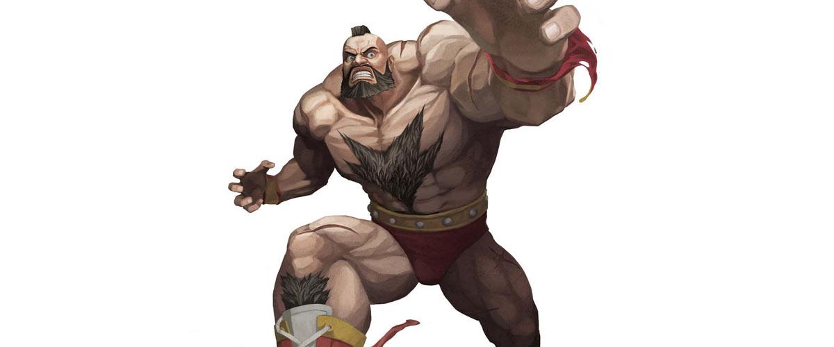 Zangief Street Fighter Beard Hair