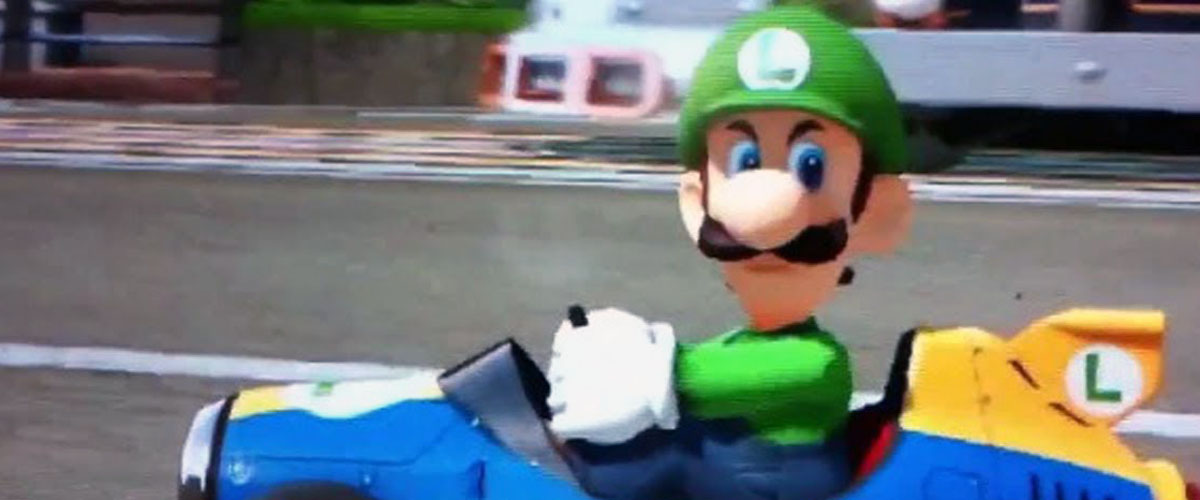 Luigi Death Stare Moustache