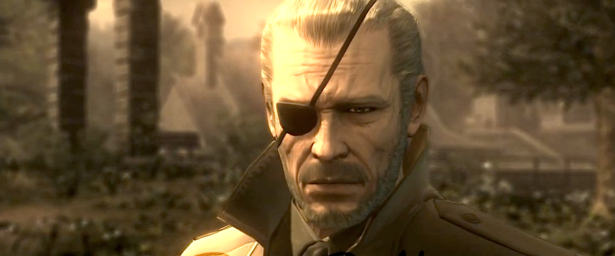 Big Boss Metal Gear Solid
