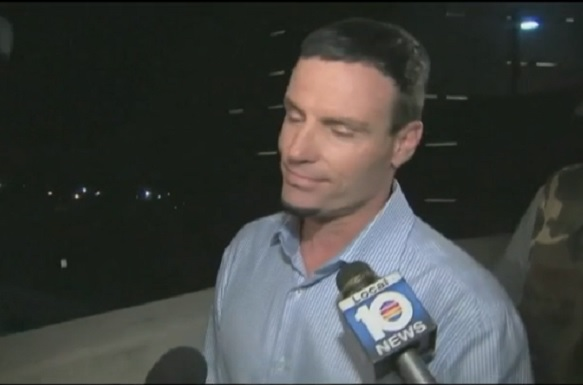 Vanilla Ice after his release from police cell in Palm Beach County