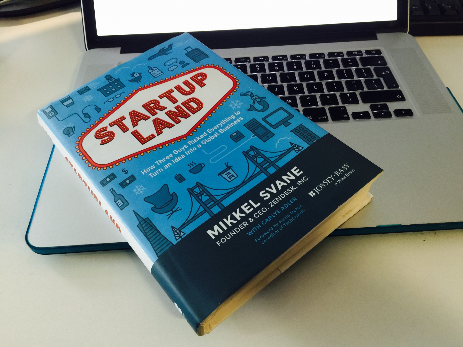 Startupland Review - Mikkel Svane's account of growing Zendesk