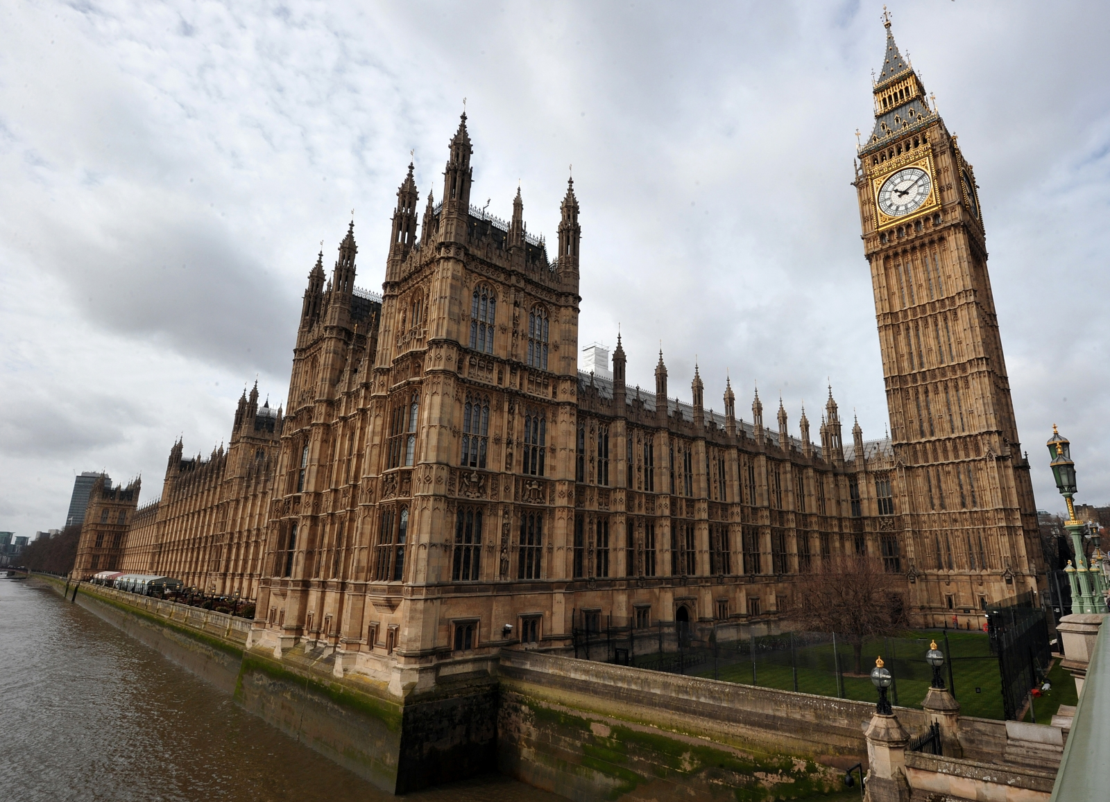 The UK's Houses of Parliament. The Tories received more funding than Labour in the last three months of 2014. (Getty)