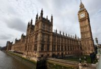 The UK\'s Houses of Parliament.