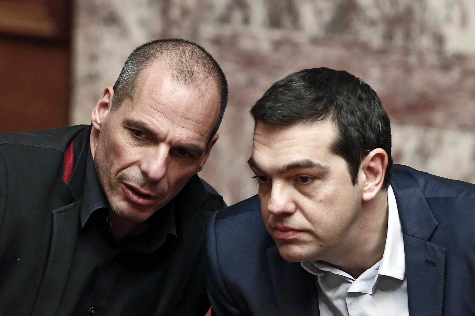 Alexis Tsipras Yanis Varoufakis