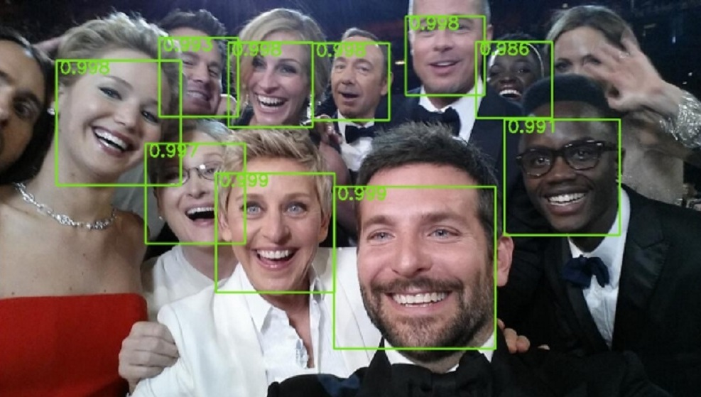 Researchers at Yahoo Labs and Stanford University have programmed a computer algorithm that can spot faces at different angles
