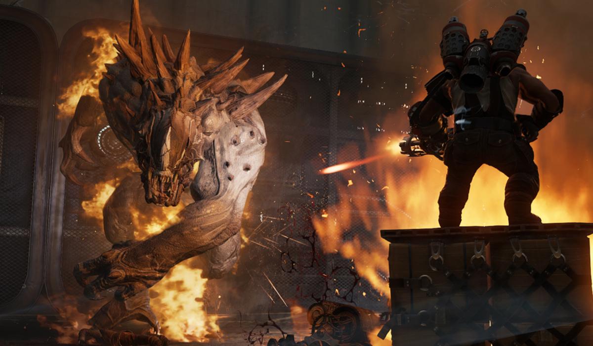 Evolve Game Screenshot Golliath