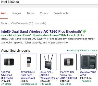 Superfish ads on Google