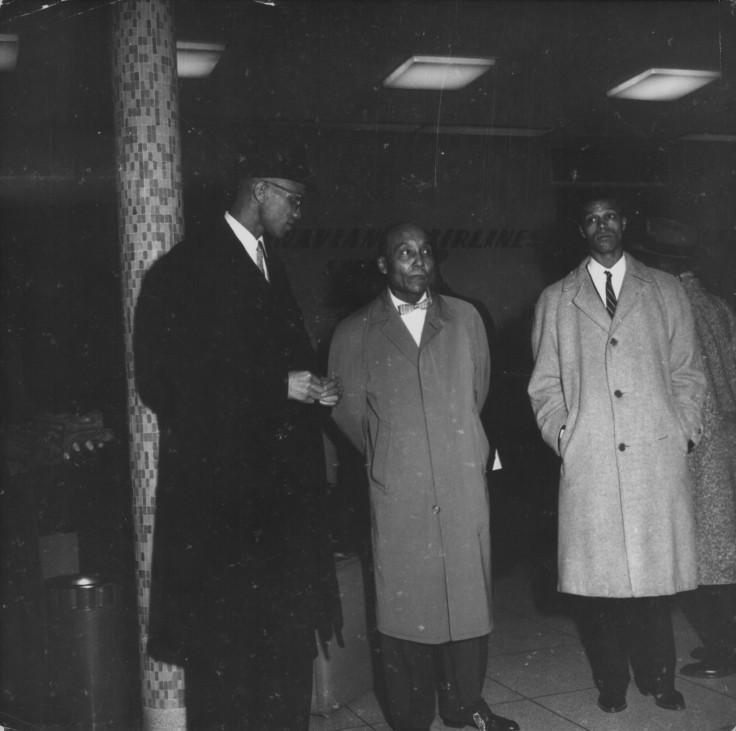 Malcolm X, Elijah Muhammad and Louis Farrakhan