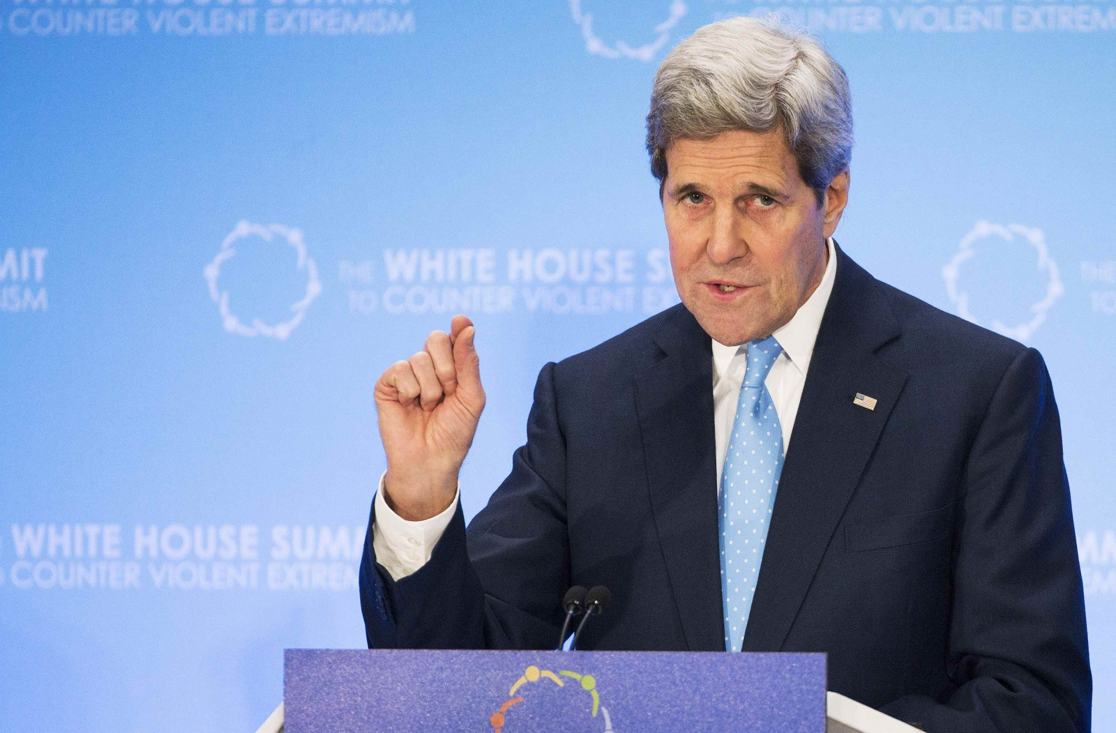 John Kerry: 'No one country' can stop violent extremism