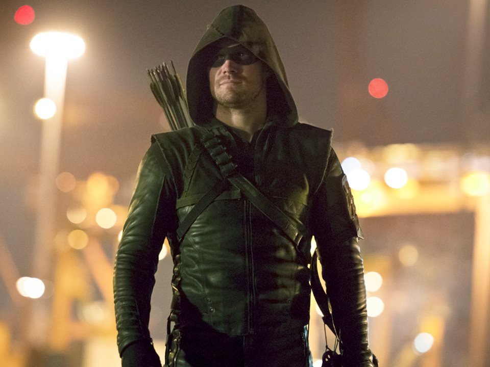 Stephen Amell teases filming