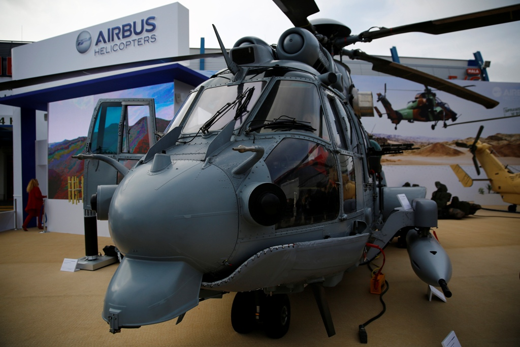 Airbus Helicopters EC725 Military Helicopter