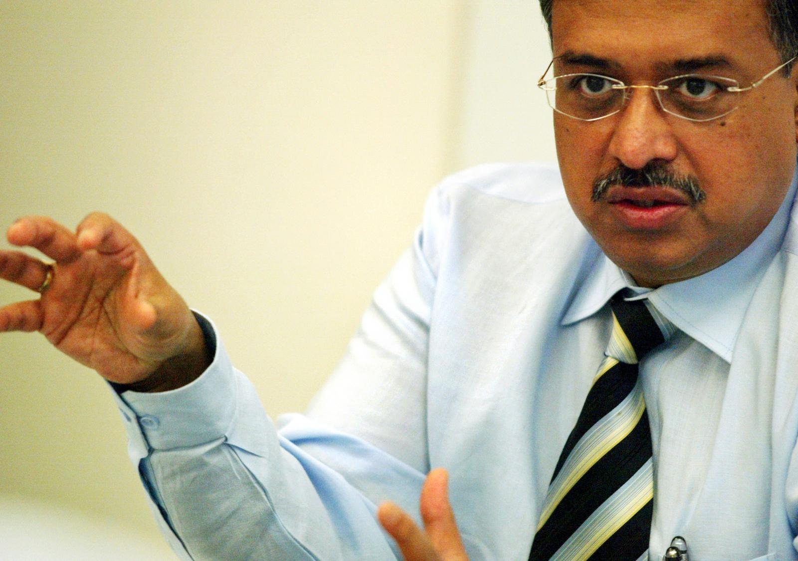 India's Sun Pharmaceutical Industries Ltd Director Dilip Shanghvi