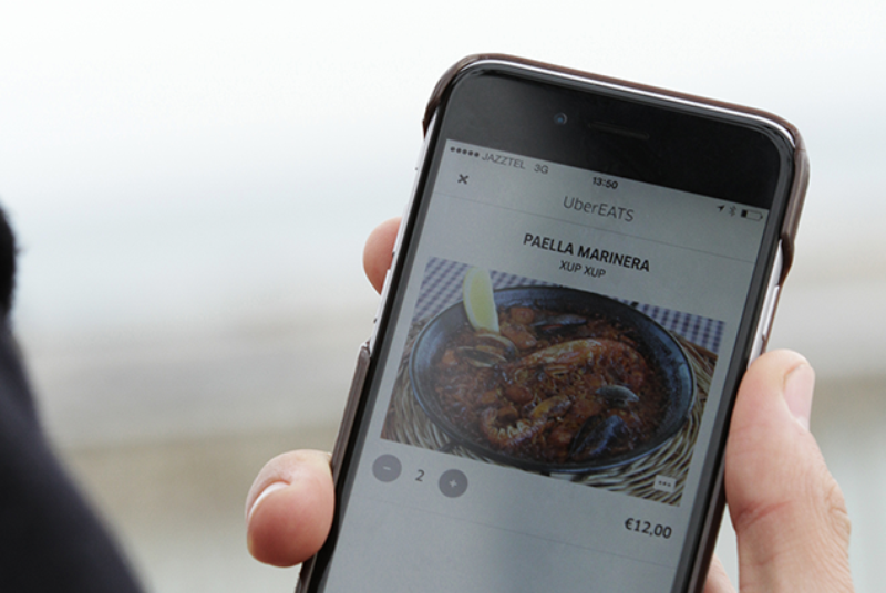 Uber has launched a new food delivery service called