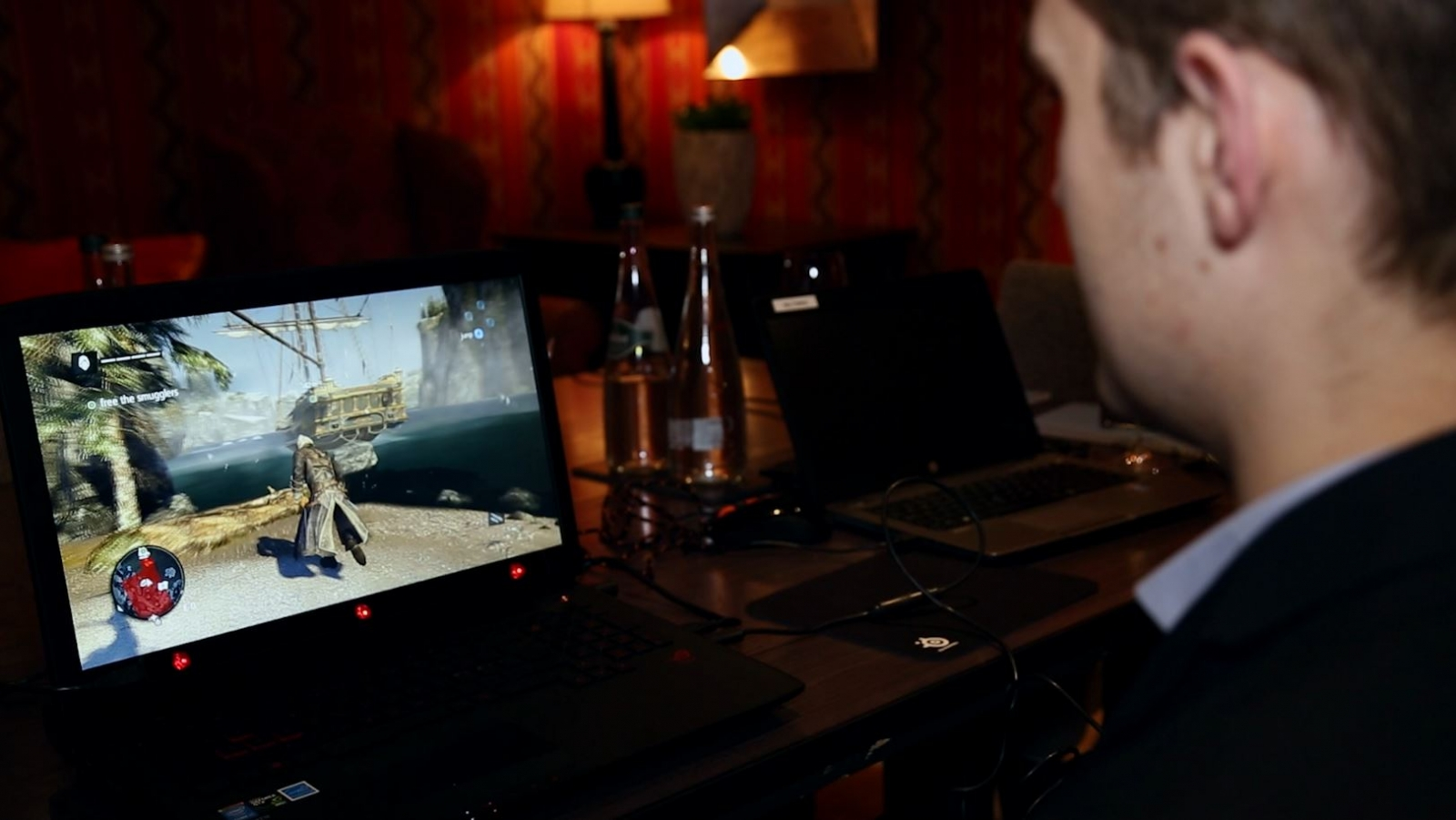 Assassin's Creed Rogue Tobii Tech Eye Tracking PC