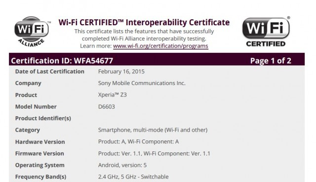 Android 5.0 Lollipop release for Xperia Z3 imminent as update gets certified