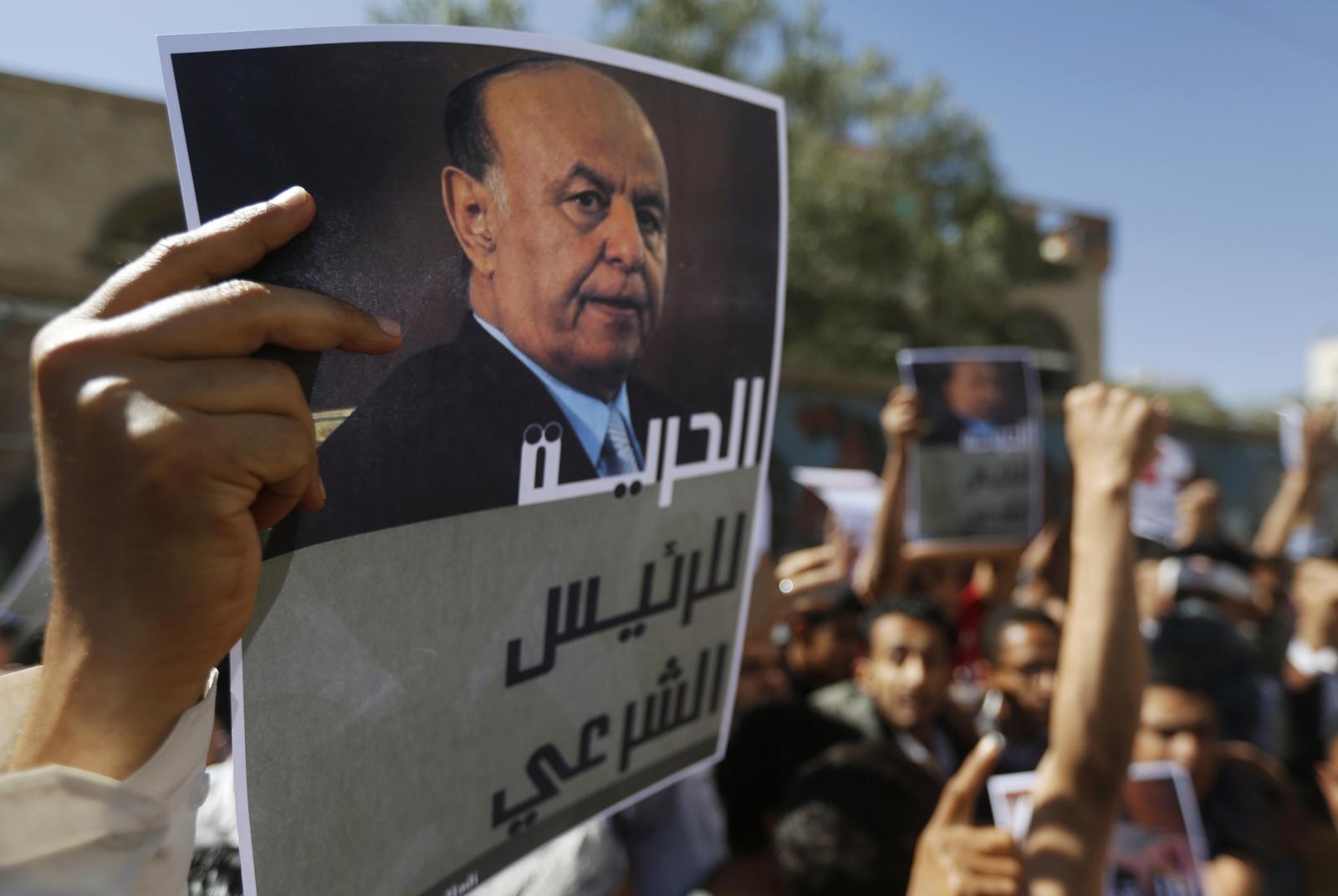 Yemen president flees