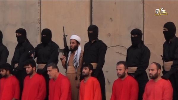 Isis execution of Peshmerga forces