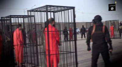 Islamic State Isis releases new video showing execution of 21 Kurdish Peshmerga fighters