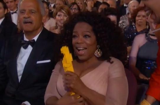 Oscars Lego Oscar Oprah