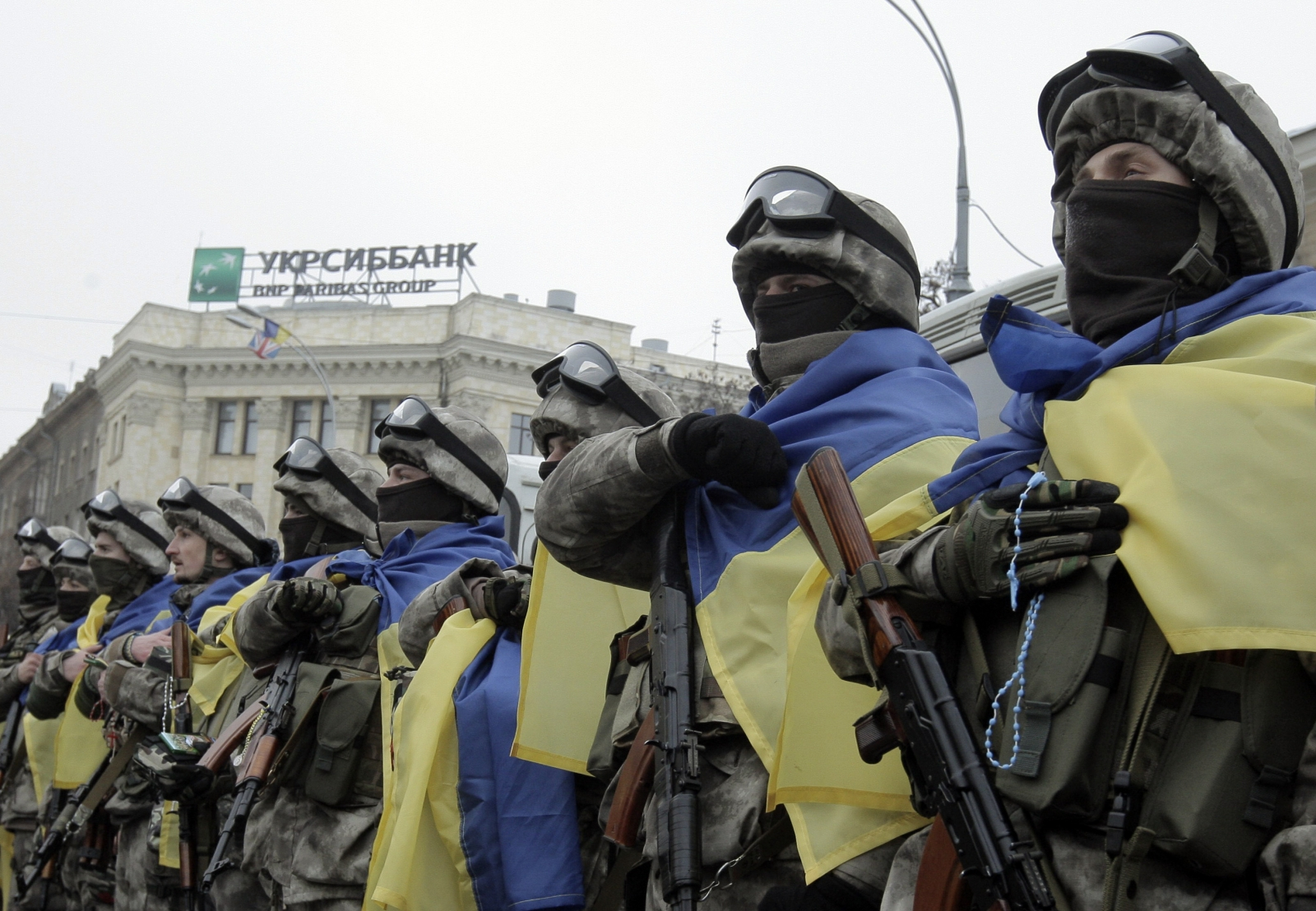 Ukraine Kharkiv bombers trained in Russia claims Kiev security official
