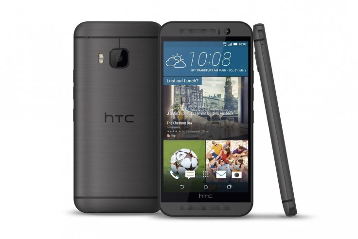 HTC One M9 gunmetal grey model