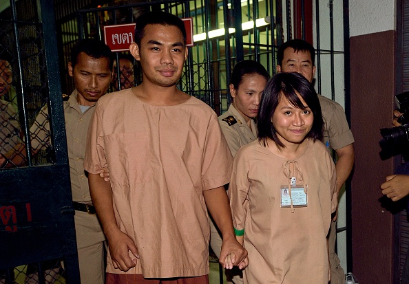Thai students arrested
