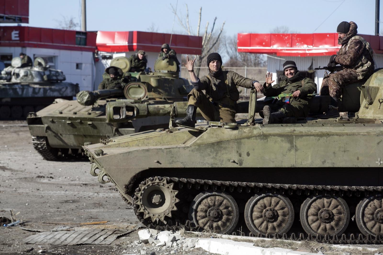 Pro-Russian rebels Ukraine