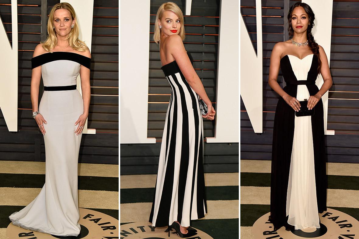 Oscars 2015 Vanity Fair After Party Rita Ora And Irina